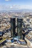 Deutsche Bank, Greentowers in Frankfurt Royalty Free Stock Photography