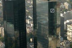 Deutsche Bank högkvarter Royaltyfria Bilder