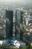 Deutsche Bank högkvarter Royaltyfri Bild