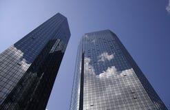 Deutsche Bank-Hauptsitze lizenzfreie stockfotos
