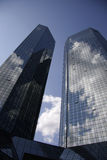 Deutsche Bank-Hauptsitze Stockbilder