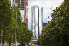 Deutsche Bank-Hauptsitze, Frankfurt Stockfotografie