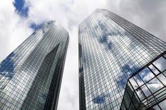 Deutsche Bank-Hauptsitze, Frankfurt Lizenzfreies Stockfoto