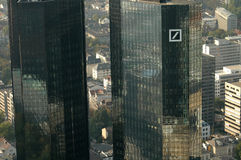 Deutsche Bank headquarters Royalty Free Stock Images