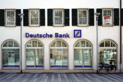 Deutsche Bank s'embranchent Photos stock
