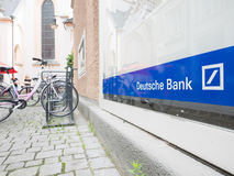 Deutsche Bank sign Stock Photos
