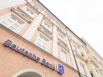 Deutsche Bank soustraient Photographie stock libre de droits