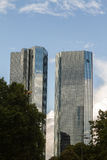 Deutsche Bank towers Royalty Free Stock Image
