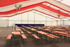 Deutsche Bierhalle Lizenzfreies Stockfoto