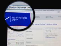 Deutsche Borse小组 库存照片
