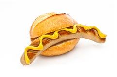 Deutsche Bratwurst stockbild