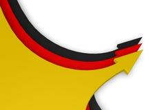 Deutsche Farben stock abbildung