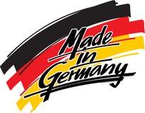 Gemacht in Deutschland Lizenzfreie Stockbilder