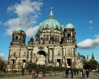 Deutsche klassische Architektur in Berlin lizenzfreie stockbilder