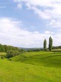 Deutsche Landschaft Lizenzfreies Stockfoto