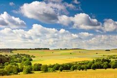 Deutsche Landschaft stockbild