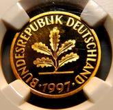 Deutsche Münze lizenzfreies stockbild