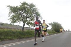 deutsche maratonu weinstrasse Zdjęcie Royalty Free