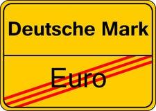 Deutsche Markierung Lizenzfreie Stockfotografie