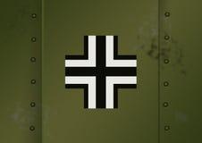 Deutsche Markierungen WWII Stockfoto