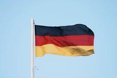 Deutsche Markierungsfahne lizenzfreies stockfoto