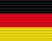Deutsche Markierungsfahne Vektor Abbildung