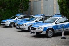 Deutsche Polizei Lizenzfreies Stockbild