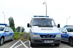 Deutsche Polizei Stockfotografie