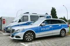 Deutsche Polizei Lizenzfreie Stockfotos