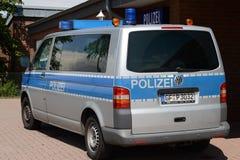 Deutsche Polizei Stockfoto