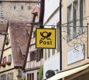Deutsche Post Fotografia Stock