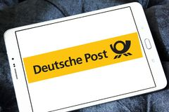 Deutsche Post logo Fotografia Royalty Free
