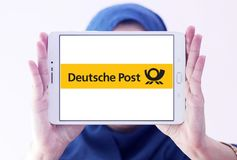 Deutsche Post logo Obrazy Stock