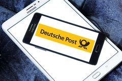 Deutsche Post logo Obraz Stock