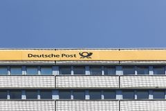Deutsche Post offices Stock Photography