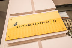 Deutsche Private Equity Royalty Free Stock Photography