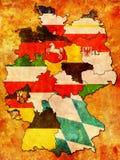 Deutsche Provinzen (Zustände) Lizenzfreies Stockfoto