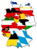 Deutsche Provinzen (Zustände) Lizenzfreies Stockbild