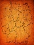 Deutsche Provinzen (Zustände) Stockfotos