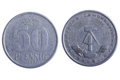 Deutsche republik coins Stock Photo