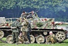 Deutsche Soldaten, Stockfotografie