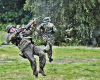 Deutsche Soldaten Lizenzfreies Stockbild