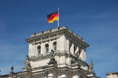Deutsche Staatsflagge Stockbilder