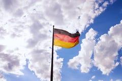 Deutsche Staatsflagge Lizenzfreie Stockbilder