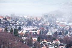Deutsche Stadt Ilsenburg stockfoto