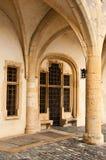 Deutsche Tür in Metz Lizenzfreie Stockbilder