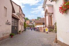 Deutsche Weinstrasse Fotos de archivo libres de regalías