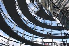 Deutscher联邦议会天花板  免版税库存照片