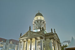 The Deutscher Dom at Berlin, Germany Stock Photo