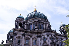 Deutscher Dom który jest Protestanckim katedrą w Berlińskim Niemcy Fotografia Royalty Free